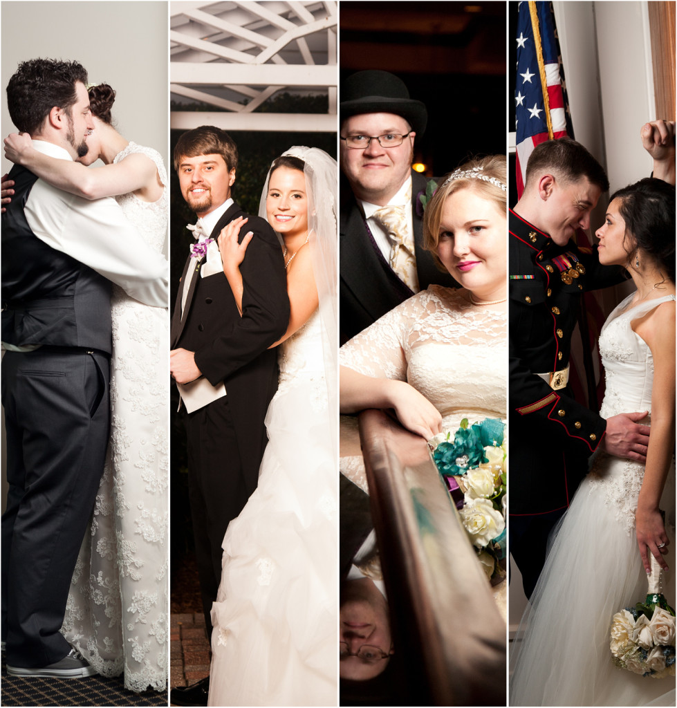 Wedding Photography Styles: Photo-journalistic, traditional, artistic, natural light, commercial, editorial