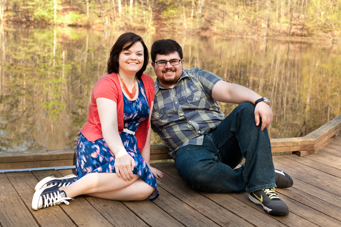 Sope Creek Park Engagement in Marietta, GA, husband and wife Atlanta wedding photography