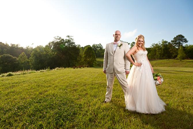 Farm Wedding in Waleska, GA
