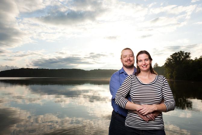 Lake Allatoona Engagement