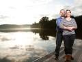 Lake Allatoona Engagement in Canton, GA