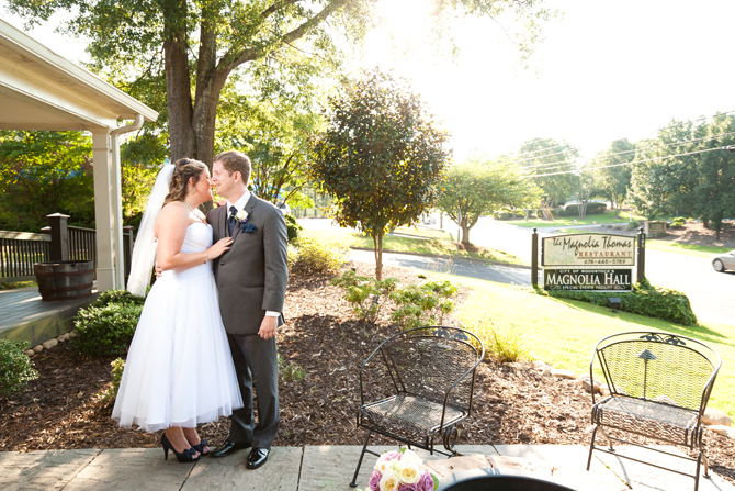 Magnolia Hall Wedding