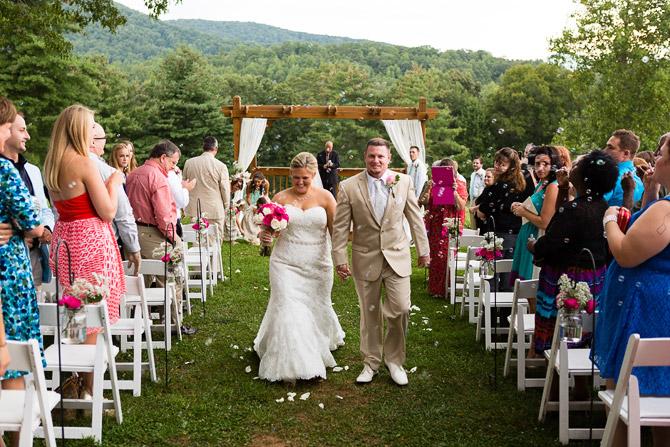 White Oaks Barn Wedding