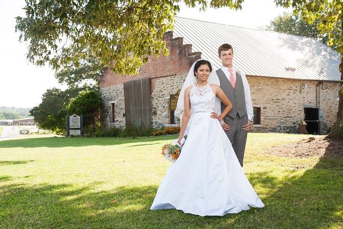 Jessica and Aaron Rock Barn Wedding
