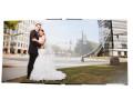 Fine Art Wedding Album, flushmount, husband and wife Atlanta wedding photography