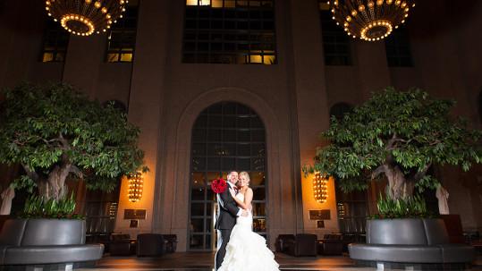 191 Building & Commerce Club Wedding in Atlanta