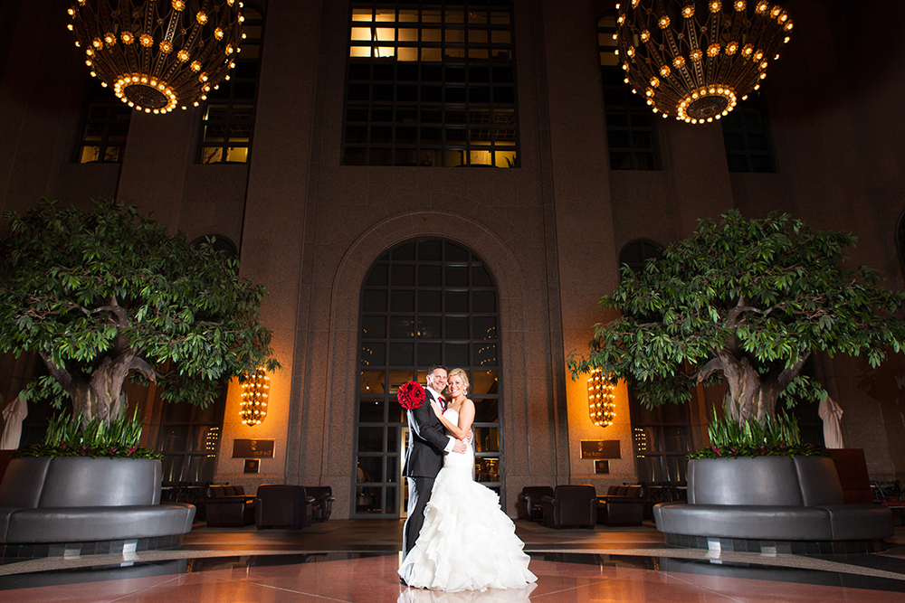 191 Building & Commerce Club Wedding in Atlanta